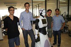 Guillem and Napoleon visiting Pal Robotics in Barcelona Intelligent Technology, Robotics, Napoleon, Barcelona, Suits, Night, Fashion, Outfits, Moda