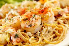 Shrimp Linguine, Cajun Shrimp Pasta, Grilled Shrimp, Pasta Scampi, Cooked Shrimp, Garlic Shrimp, Seafood Dishes, Pasta Dishes, Seafood Recipes
