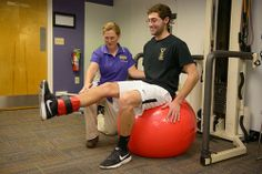 I want to help my athletes better recover from injuries so that they can perform better on the playing field.