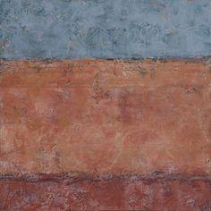 """della terra II, oil on panel, 24""""x 24"""""""