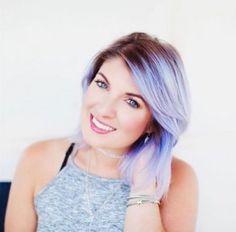 Haarfarben Trends 2017: Pastell