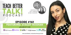Embrace your style and strength. - Stacey Roshan chats with us about the use of technology in these unique times, dealing with perfectionism and introversion, and why you need to embrace your style and strength. Use Of Technology, Educational Technology, Ap Calculus, Content Area, Middle Schoolers, Teamwork, Growing Up, Finding Yourself, Language