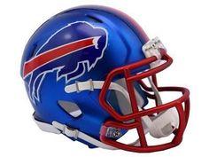Buffalo Bills Riddell Blaze Speed Football Mini Helmet 8053652 for sale online Buffalo Bills Logo, Buffalo Bills Football, Nfl Football Helmets, Sports Helmet, Saints Football, College Football, Nfl Shop, Sports Fan Shop, 32 Nfl Teams