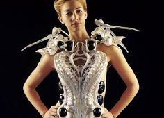 3D robotic spider dress