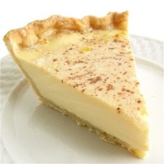 Custard Pie - Recipe by Shelli Burton-Olin  One of my favorites.