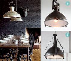 Get the Look: Industrial statement lighting