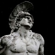 Achilles was a hero in Greek mythology and one of the main characters that participated in the Trojan War. He was also the protagonist of Homer'. Ancient Greek Sculpture, Greek Statues, Greek And Roman Mythology, Greek Gods And Goddesses, Aesthetic Statue, Aesthetic Art, Achilles And Patroclus, The Wicked The Divine, Trojan War