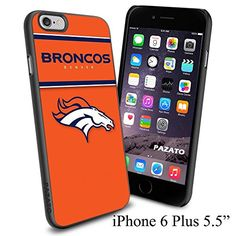 """NFL DENVER BRONCOS , Cool iPhone 6 Plus (6+ , 5.5"""") Smartphone Case Cover Collector iphone TPU Rubber Case Black [By NasaCover] NasaCover http://www.amazon.com/dp/B012BCMX3G/ref=cm_sw_r_pi_dp_NYoXvb1CKZG4J"""