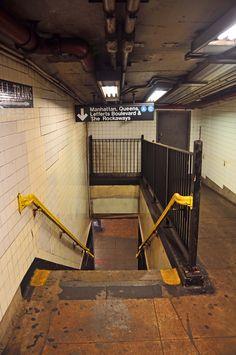 New York Subway I really miss mass transit, lefferts boulevard