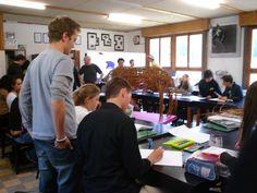 Ensino Médio, escola de artes. Suécia.