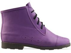 Jeffrey Campbell Rainy Day in Purple at Solestruck.com