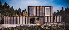 Define Architecture, Futuristic Architecture, Sustainable Architecture, Residential Architecture, Architecture Design, Timber Buildings, Modern Buildings, Modern Houses, Pop Up Haus