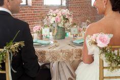 Gold + Mint Wedding Inspiration