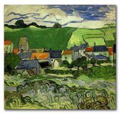 picasso view of auvers | Meest populaire schilderijen