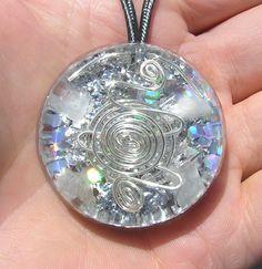 Orgone+Pendant+Petalite+Crystal+Healing+Aura+by+mysticrocksorgone,+$30.00