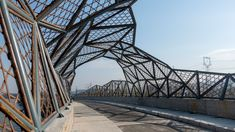 Mimesis Architecture Studio designed this bamboo-lined bridge in China's Jiangsu Province to celebrate the region's ancient craft industries