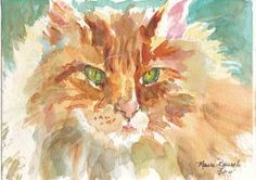 Watercolor Art Print by Maure Bausch by twopoots on Etsy, $12.50