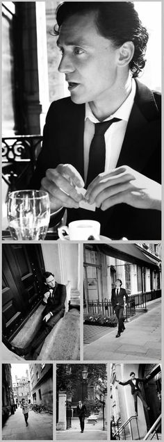 Tom Hiddleston, this is probably my favorite photo shoot of him :-)