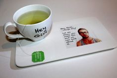 Ryan Gosling Hey Girl inspired Tea Set/Geekery/Humor/Tea Gift Set/Gift under 30/Tea for One by SquackDoodle on Etsy https://www.etsy.com/listing/115664386/ryan-gosling-hey-girl-inspired-tea