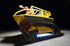 An IED-Eating Robot Finds A New Line Of Work | Co.Design: business + innovation + design