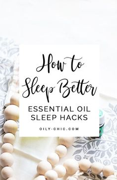 Stop trying to make up for lost sleep on the weekends - use one of these 10 ways to sleep better every night! Ways To Sleep, Essential Oils For Sleep, Sleep Better, Lost, Place Card Holders, Night