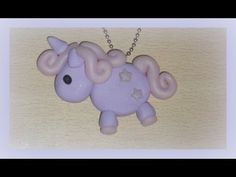 DIY Kawaii Unicorn Charm Tutorial for Polymer Clay or Fimo
