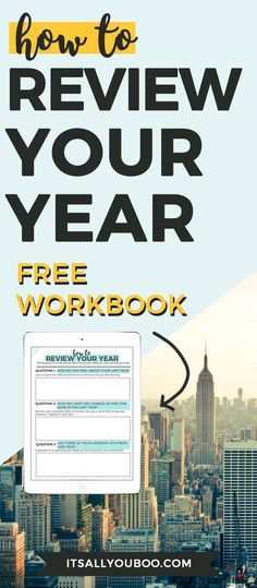 Before setting goals, be sure to review your last year. Get your FREE printable 10-question workbook to help you audit your year and life.