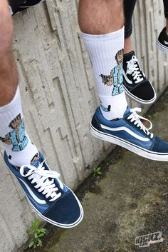 The Vans Old Skool. One of the most iconic shoes worldwide - an all-day classic.