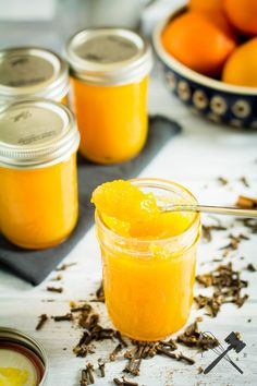 Orangenmarmelade mit Zimt und Nelken - Law of Baking