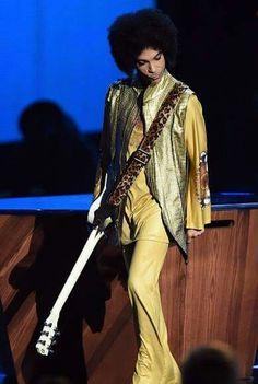 Prince November 22, 2015 American Music Awards presenter
