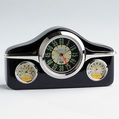 This Retro FJ Holden Clock & Weather Station is in the shape of the olf FJ Dashboard Instrument panel.  Not just for people who love their old Holdens, this is a stylish clock that would suit any room $49.95