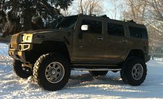 05 Hummer H2 MONSTER LIFTED 4x4 mud tires Low Miles CUSTOM SHOW ...
