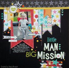Layout: Little man, Big Mission