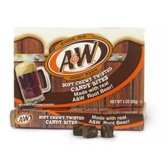 Theater Box – Candy Bites - A&W Root Beer 85g x 12 units