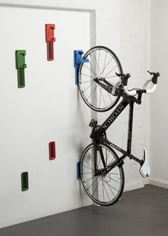 5 Low Profile Wall Mounted Bicycle Storage Solutions (would any of these work in our basement?)
