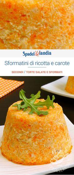 Ricotta, Cornbread, Veggies, Flan, Finger Food, Pudding, Cooking Recipes, Ethnic Recipes, Desserts