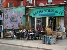MoonBean coffee shop-Kensington Market, Toronto, CA.