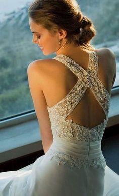 New Romantic Bridal Dresses - Wedding Dresses 2019 Best Brindal Pretty Wedding Dresses, Amazing Wedding Dress, Bridal Dresses, Dress Wedding, Lace Wedding, Elegant Dresses, Elegant Wedding, Sexy Dresses, Romantic Bridesmaid Dresses