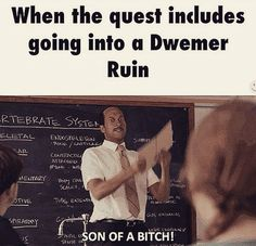 Dwemer ruins are the worst! #Skyrim