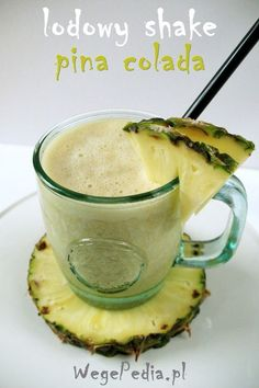Lodowy shake PINA COLADA – niskotłuszczowy