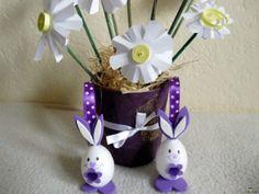 Kreatív ötletek Húsvétra: Húsvéti nyuszi hungarocell tojásból    http://www.hobbycenter.hu/Unnepek/kreativ-oetletek-husvetra-husveti-nyuszi-hungarocell-tojasbol.html