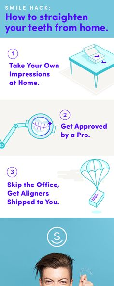Get your dream smile for up to 70% less than other invisible aligners with SmileDirectClub. We believe you shouldn't have to pay a small fortune for a smile you'll love. We work directly with customers, avoid costly office visits, and ship aligners straight to you. Get started now with our free and easy assessment!