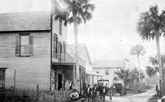 Florida Memory - Looking west on Dunlawton Avenue - Port Orange, Florida