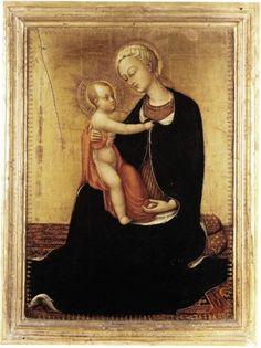 Stefano di Giovanni, il Sassetta - Madonna dell'Umiltà - 1435 - c. 1438 - Musei Vaticani, Vaticano