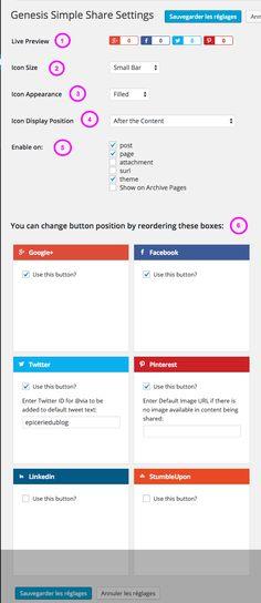 #tuto: trop facile de mettre des boutons partage sur #blog #wordpress avec Genesis! #blogging