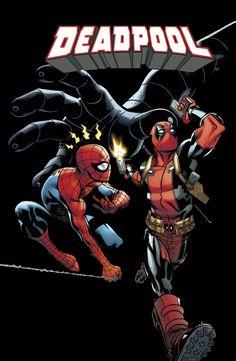 #DeadPool #SpiderMan
