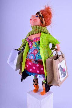 Frida goes shopping