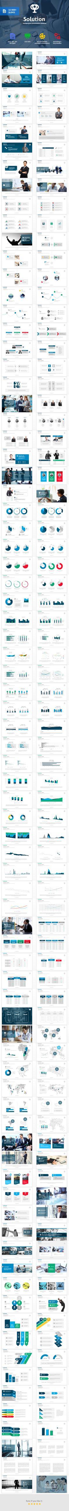 shift - multipurpose powerpoint template #design #slides, Modern powerpoint