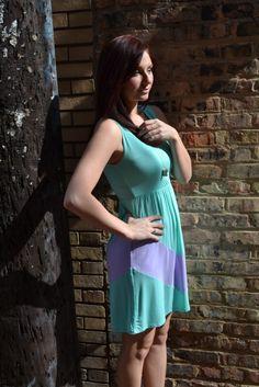 Double Mint Gum Dress $35  PiaceBoutique.com