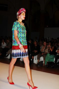 check out a great selection of prints from the Stella Jean SS13 collection - image copyright Bambi Eyes  http://www.africafashionguide.com/2012/09/check-out-stella-jean-wax-printastic-ss13-collection/